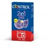 Preservativos Control Duo 6 uds. Touch&Feel + lube 2en1
